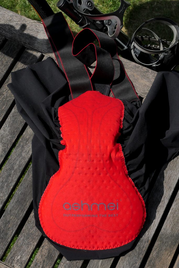 Seat pad is well sculptured and holds well
