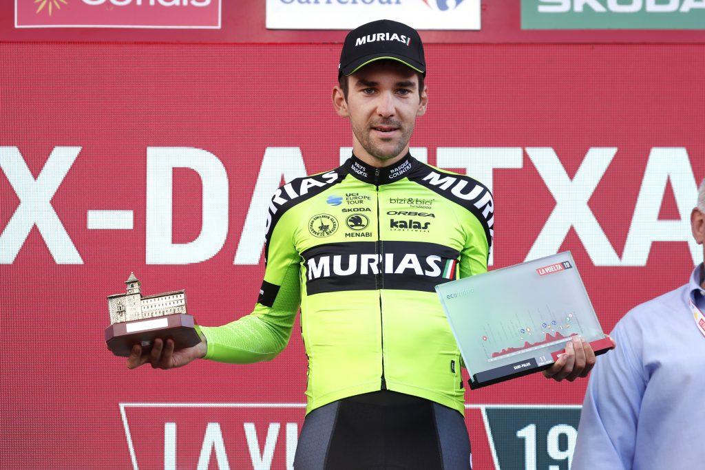 Tour of Spain 2019 Stage 11: Winner Mikel  ITURRIA SEGUROLA  Saint Palais to Urdax-Dantxarinea (180 km).