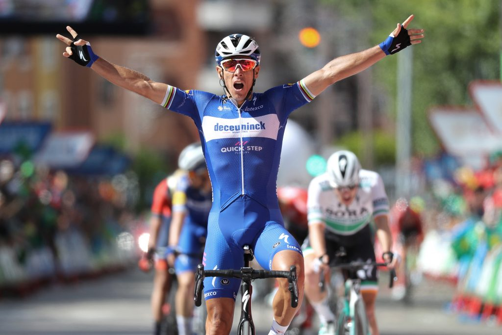 Philippe GILBERT  (BEL) wins Tour of Spain 2019,  Stage 17, Aranda de Duero - Guadalajara (219,6 km)