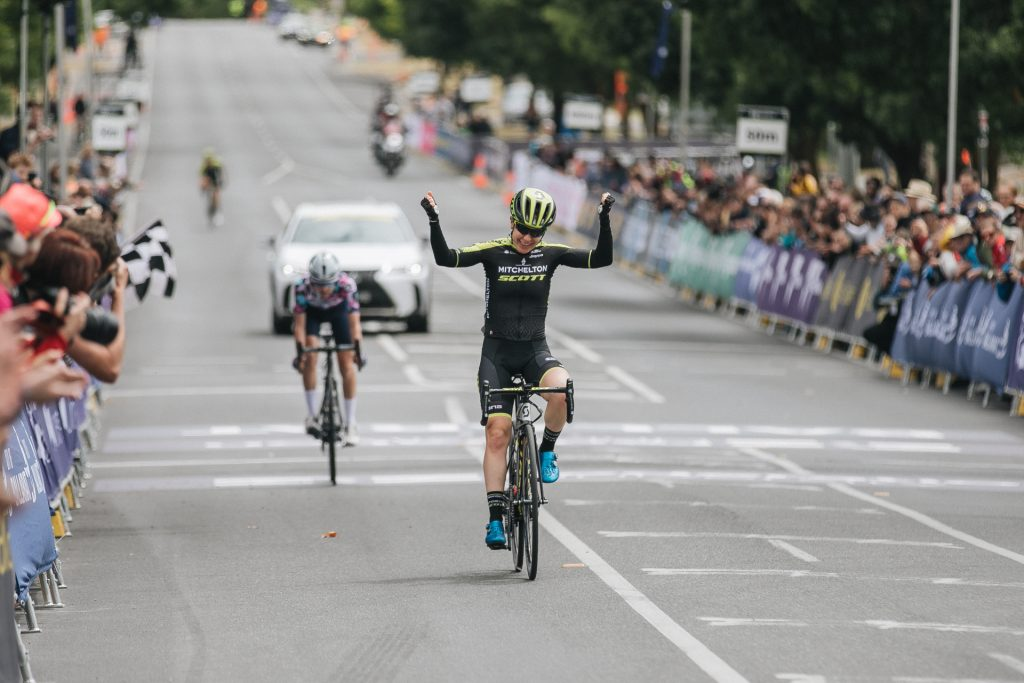 Mitchelton-SCOTT's Amanda Spratt wins the 2020 Australian Nats