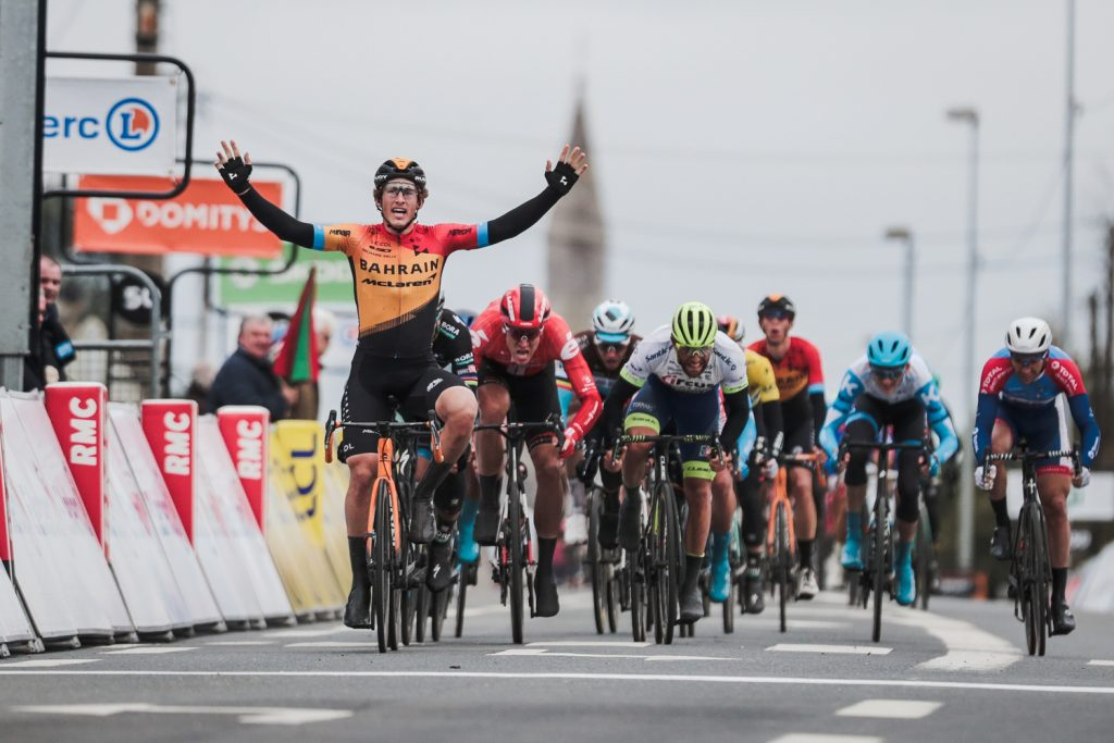 Iván García Cortina (Bahrain - McLaren) takes the win on Stage 3 of the 2020 Paris Nice