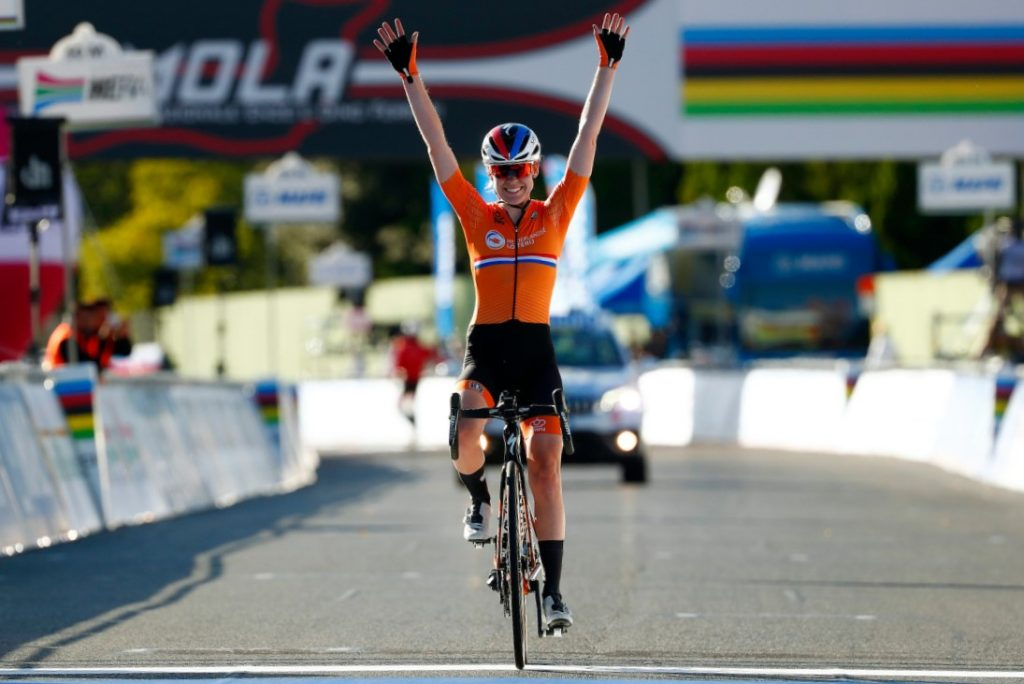 Anna van der Breggen- Elite Women's UCI Road Race Champion 2020
